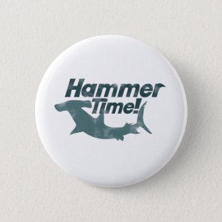 ハンマーの時間 5.7CM 丸型バッジ