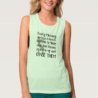 ハンマー投げによってはトラック分野のワイシャツが夢を見ます タンクトップ
