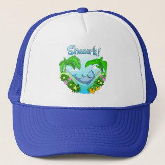 ハンモックのトラック運転手の帽子のShaaark キャップ
