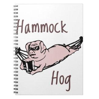 ハンモックのブタを知っていますか。 ノートブック