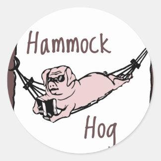 ハンモックのブタを知っていますか。 ラウンドシール