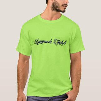 ハンモックのライフスタイルのTシャツ Tシャツ