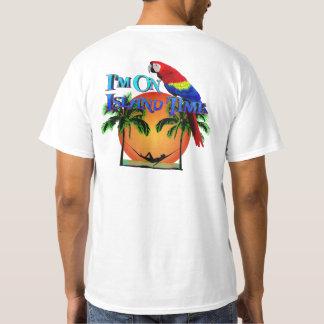 ハンモックの島の時間 Tシャツ