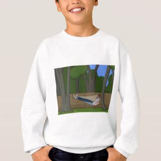 ハンモックの時間 スウェットシャツ