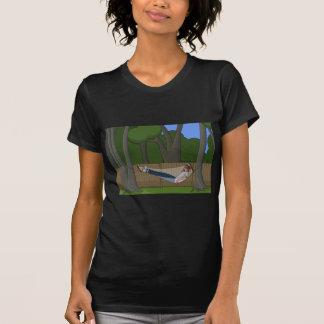 ハンモックの時間 Tシャツ