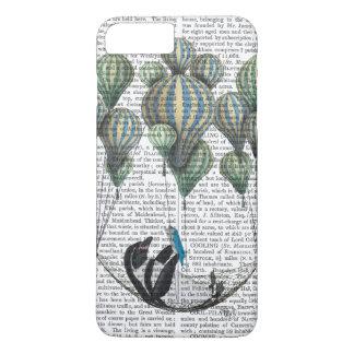 ハンモックの気球のペンギン iPhone 8 PLUS/7 PLUSケース
