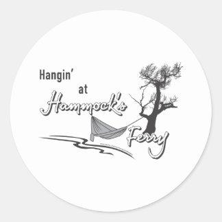 ハンモックフェリーのHangin ラウンドシール