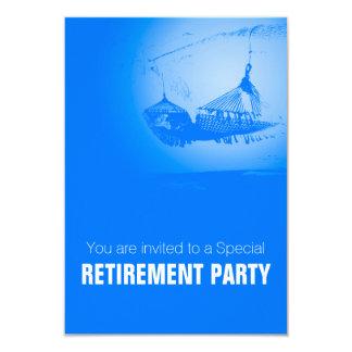 ハンモック-幸せな退職パーティ02 カード