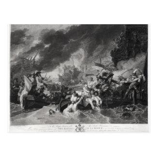 ハーグの戦い、1692年5月29日 ポストカード