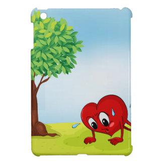 ハートおよび木 iPad MINI カバー