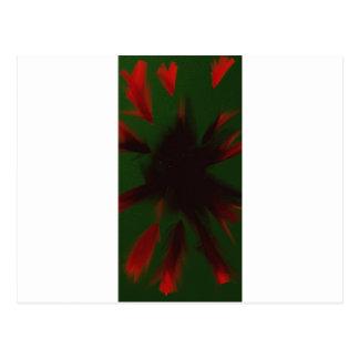 ハートからの抽象芸術: ミハエル ポストカード