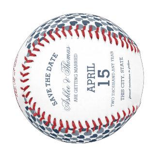 ハートが付いている日付の写真を救って下さい 野球ボール