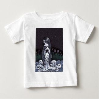 ハートによって壊される幽霊 ベビーTシャツ