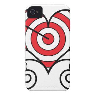 ハートによる矢 Case-Mate iPhone 4 ケース