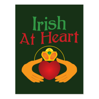ハートのアイルランド語 ポストカード