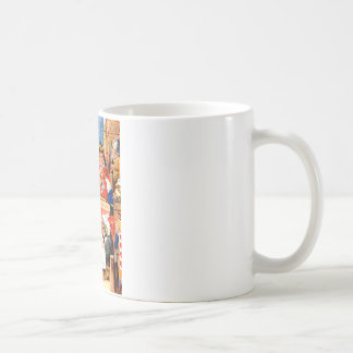 ハートのアリスそして不思議の国で試験悪党 コーヒーマグカップ