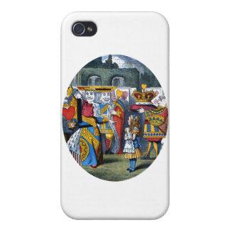 ハートのアリス及び女王 iPhone 4/4Sケース