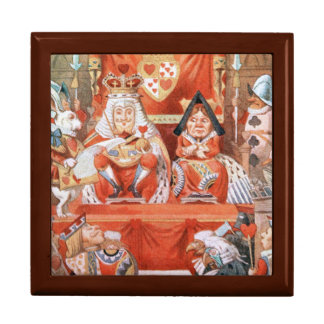 ハートのギフト用の箱の不思議の国王のQueenアリス ギフトボックス