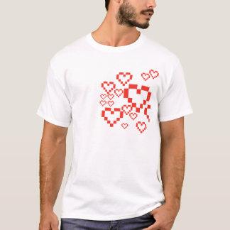 ハートのギーク Tシャツ