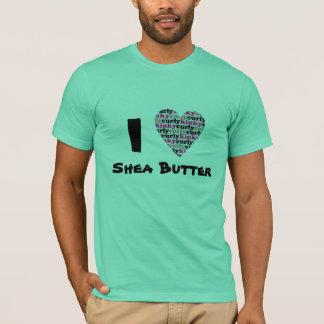 ハートのシアバター Tシャツ