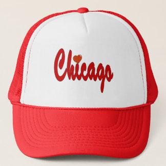ハートのシカゴ キャップ