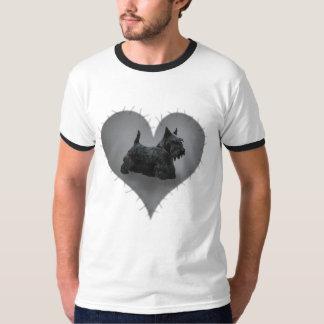ハートのスコッチテリア Tシャツ