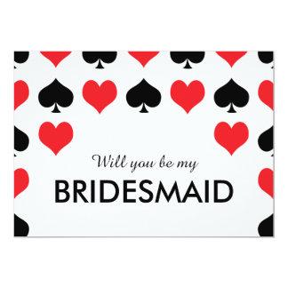 ハートのスペードカジノ私の新婦付添人です カード