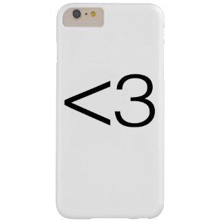 ハートのスマイリー BARELY THERE iPhone 6 PLUS ケース