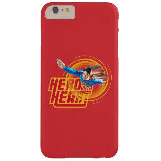 ハートのスーパーマンの英雄 BARELY THERE iPhone 6 PLUS ケース