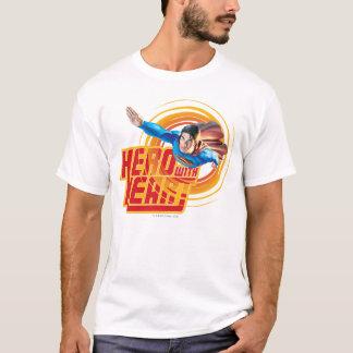 ハートのスーパーマンの英雄 Tシャツ