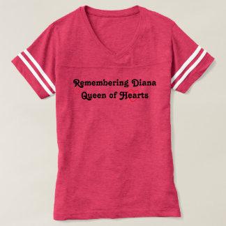 ハートのダイアナの女王の記憶 Tシャツ