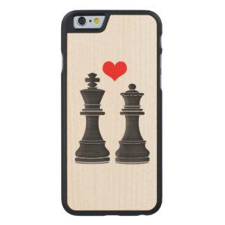 ハートのチェスの王そして女王 ケース