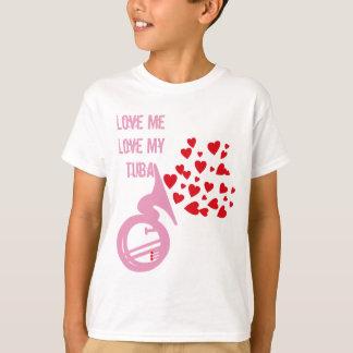 ハートのテューバ Tシャツ