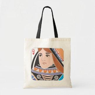 ハートのバッグの女王 トートバッグ