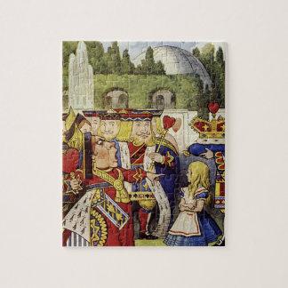 ハートのパズルの不思議の国の女王のアリス ジグソーパズル