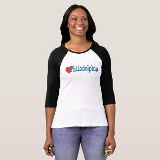 ハートのフィラデルヒィアのTシャツ Tシャツ