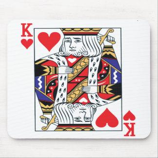 ハートのマウスパッドの王 マウスパッド