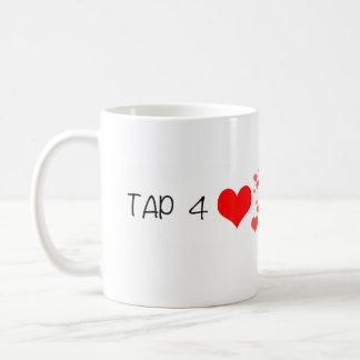 ハートのマグのためのペリスコープのタップ コーヒーマグカップ