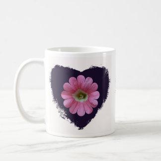 ハートのマグのペチュニア コーヒーマグカップ