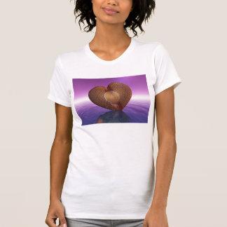 ハートのマグを、その特別な人のために、愛、rom愛して下さい tシャツ