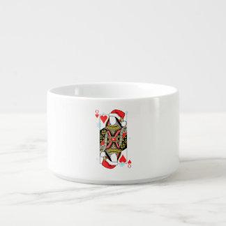 ハートのメリークリスマスの女王-あなたのイメージを加えて下さい チリボウル