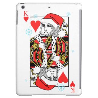 ハートのメリークリスマス王 iPad AIRケース