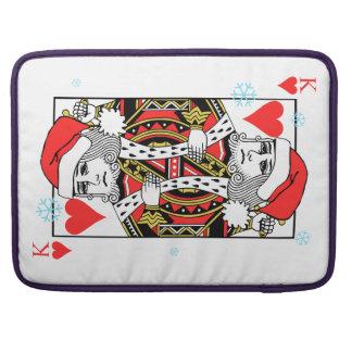 ハートのメリークリスマス王 MacBook PROスリーブ