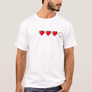 ハートのメートルライト Tシャツ