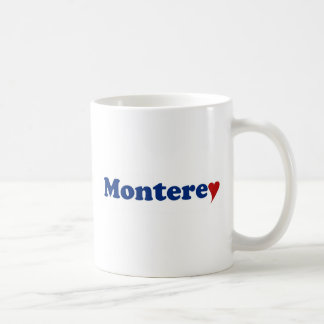 ハートのモンテレー コーヒーマグカップ