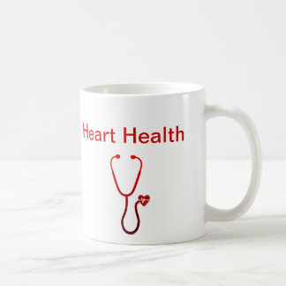 ハートの健康の医学のテーマのコーヒー・マグ コーヒーマグカップ