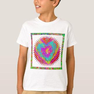 ハートの問題-芸術的な表現 Tシャツ