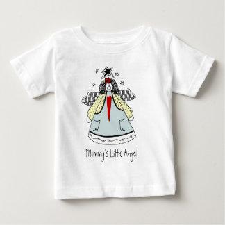 ハートの国の落書きのきちんとした天使 ベビーTシャツ