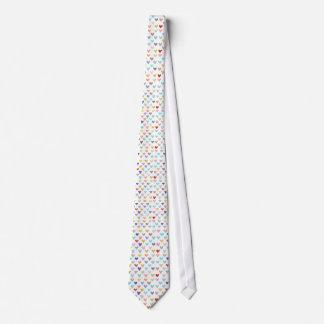 ハートの多彩なタイ ネクタイ