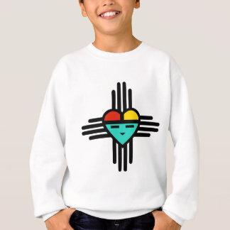 ハートの太陽神 スウェットシャツ